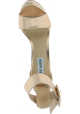 Steve Madden Sandalias tacón alto con plataforma mujer piel sintética dorada