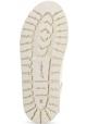 Marsèll Botines con cordones para mujeres en gamuza blanca made in Italy