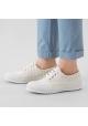 Hogan Zapatillas deportivas con cordones a rayas para mujer en lona beige