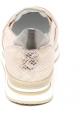 Hogan Zapatos sin cordones para mujer en piel de becerro laminada rosa claro