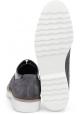 Zapatos de mujer con cordones Hogan en ante y charol gris
