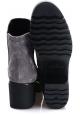 Botines de mujer Hogan con tacón en ante gris