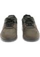 Zapatillas de hombre Hogan en piel nobuck y tejido militar