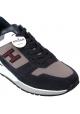 Hogan Zapatillas deportivas de moda para hombres en piel multicolor