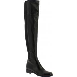 Botas altas de mujer Gucci en cuero negro