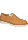 Hogan de naranja cuero acento Oxford zapatos