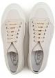 Zapatillas bajas de Tod's en cuero blanco