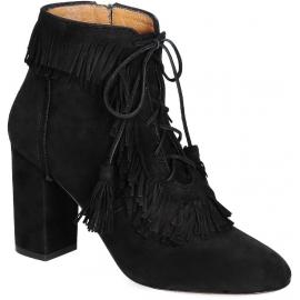 botas de tacón alto Aquazzura ante negro