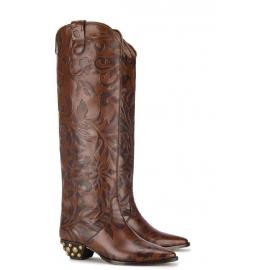 becerro botas hasta la rodilla de Isabel Marant Brown