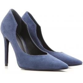 Kendall + Kylie zapatos de tacón en gamuza azul