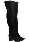 Botas altas Kendall + Kylie en tejido negro