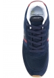 Zapatillas de hombre Hackett en piel y tela azul