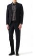 Zapatos con cordones Valentino para hombre en cuero negro