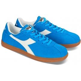 Zapatillas Tokio de hombre Diadora en piel de gamuza azul