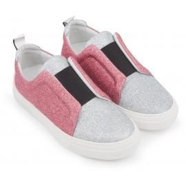 Zapatillas de deporte Pierre Hardy en color plata / rosa