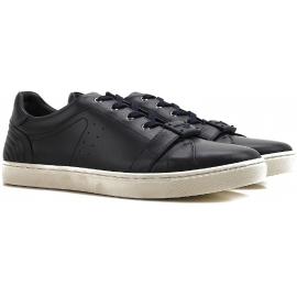 Zapatillas Dolce & Gabbana para hombre en piel de becerro negra
