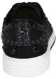 Zapatillas bajas de hombre Valentino en tejido negro