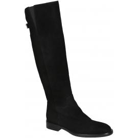 Botas a la rodilla Dolce & Gabbana en gamuza negra