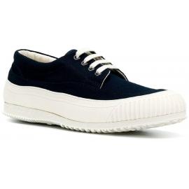 Zapatillas de hombre bajas de Hogan con zapatillas en azul.