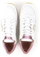 Zapatillas bajas de mujer modelo Philippe en piel blanca