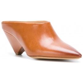 Sandalias de tacón Maison Margiela en piel camel