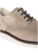 Zapatos de cordones con cordones Derby de Hogan para hombre en ante beige