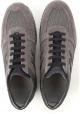 Hogan interactive Zapatillas de hombre en piel marrón y tejido gris