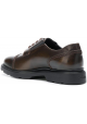 Hogan H393 MEMORY Zapatos de cordones para hombre en piel marrón medio
