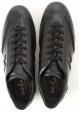 Hogan OLYMPIA SLASH Zapatillas bajas de hombre en piel negra