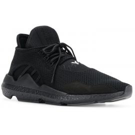 Y-3 Sneaker cordones para hombre en tejido tècnico negro con suela de goma