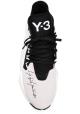 Y-3 Sneakers con cordones para hombre en tejido tècnico negro con suela de goma
