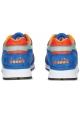 Zapatillas Diadora para hombre en piel azul y tela